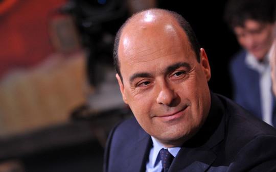 27/04/2010 Roma, trasmissione Raitre Ballaro', nella foto il presidente della Provincia di Roma Nicola Zingaretti