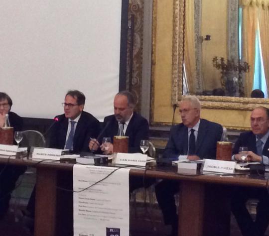 Eurispes, Presentazione Rapporto 2017 a  Palermo