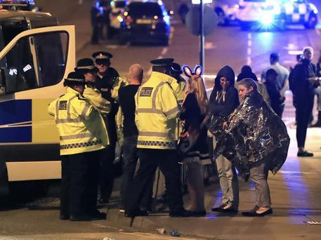 Manchester esplosione