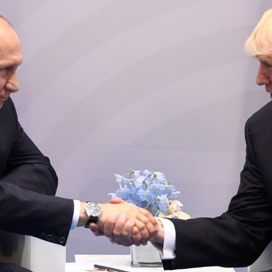 Putin Trump su  Siria