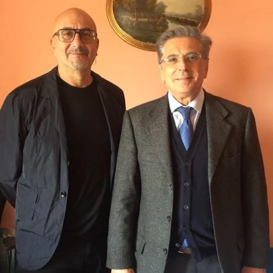 DR. GIUSEPPE VALENTI E PROF. ANTONIO PERINO (2)